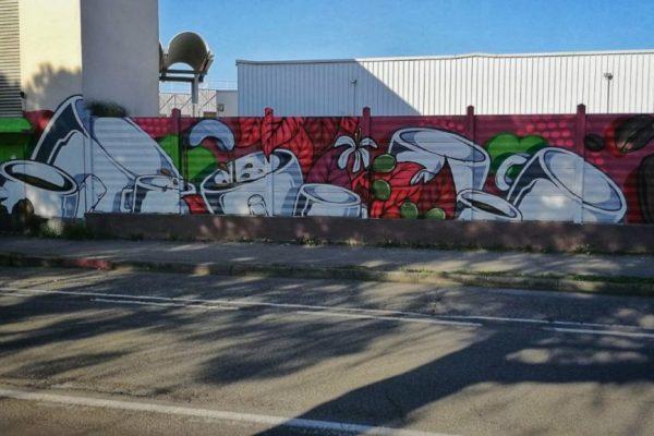 Street art coffee inspired al Mumac