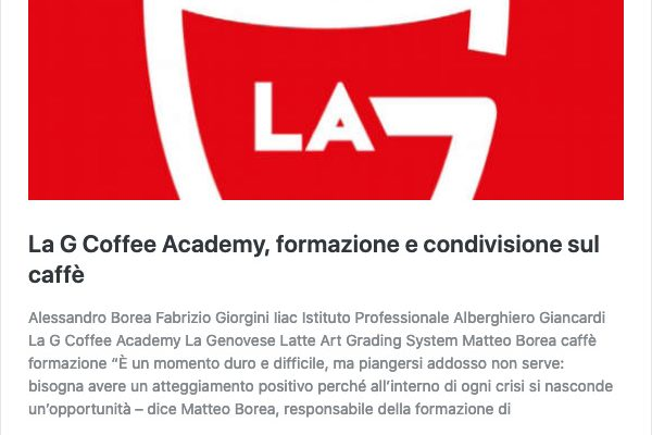 La G Coffee Academy, formazione e condivisione sul caffè